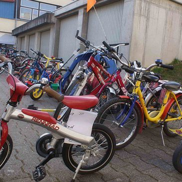 Fahrradbazar der Creichelmer SPD am 9. März 2019