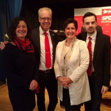 SPD-Neujahrsempfang im Schrozberger Schloss
