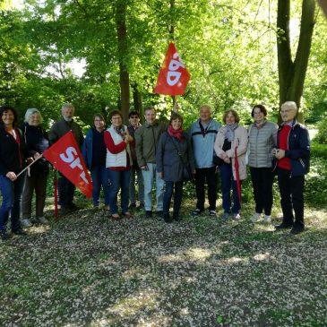 Maiwanderung der Creglinger SPD